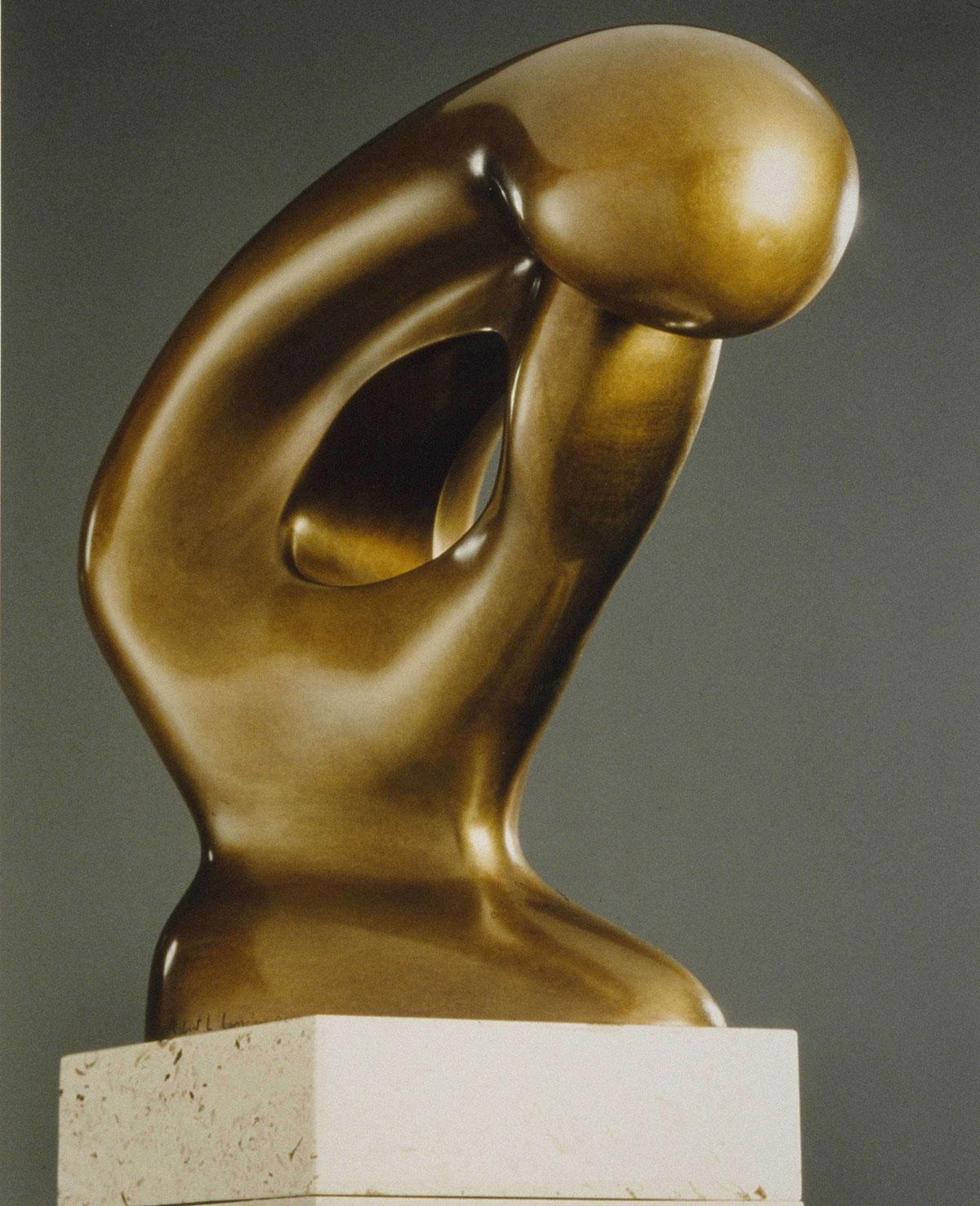 MATERNAL CONTEMPLATION (Of Rodin\'s Thinker)